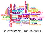 candy color palette word cloud... | Shutterstock . vector #1040564011