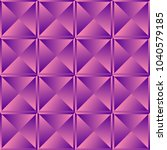faceted square pattern ... | Shutterstock .eps vector #1040579185