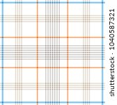 tartan traditional checkered... | Shutterstock .eps vector #1040587321