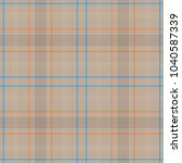 tartan traditional checkered... | Shutterstock .eps vector #1040587339