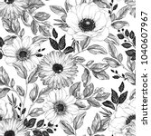 Hand Drawn Elegant Pattern Wit...