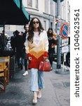 milan  italy   february 23 ... | Shutterstock . vector #1040623561