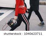milan  italy   february 21 ... | Shutterstock . vector #1040623711