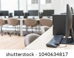 computer lab blur background... | Shutterstock . vector #1040634817