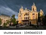 Small photo of Cluj / Romania - June 2014: Cluj National Theatre