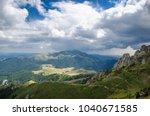 ciucas mountains  romania | Shutterstock . vector #1040671585