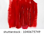 abstract background with red... | Shutterstock . vector #1040675749