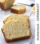 lemon pound cake   Shutterstock . vector #1040686147