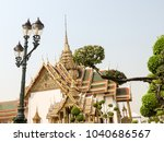 royal palace in bangkok  | Shutterstock . vector #1040686567