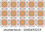 colorful textured seamless... | Shutterstock . vector #1040692219
