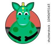 dragon icon avatar. dragon or...