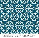 decorative seamless geometric... | Shutterstock .eps vector #1040697481