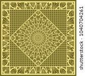 mandala background  geometric... | Shutterstock .eps vector #1040704261