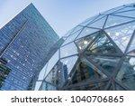 seattle  washington march 6th...   Shutterstock . vector #1040706865