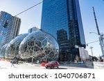 seattle  washington march 6th...   Shutterstock . vector #1040706871