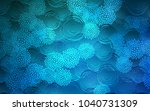 light blue vector doodle... | Shutterstock .eps vector #1040731309
