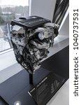 Small photo of Stuttgart , Germany - November 15, 2017 : The Engine 2.0 L R4 Turbo Motor