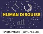 conceptual business... | Shutterstock . vector #1040761681