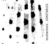 abstract grunge grid stripe... | Shutterstock .eps vector #1040768131