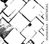 abstract grunge grid stripe... | Shutterstock .eps vector #1040768161