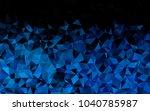 light blue vector low poly...   Shutterstock .eps vector #1040785987