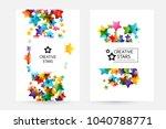 creative kids design collection.... | Shutterstock .eps vector #1040788771