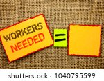 word  writing  text  workers... | Shutterstock . vector #1040795599