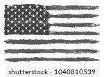 grunge usa flag.vector flag of... | Shutterstock .eps vector #1040810539