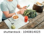 everything is on schedule.... | Shutterstock . vector #1040814025