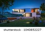 3d rendering of modern cozy... | Shutterstock . vector #1040852227