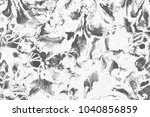 silver  gray wet abstract paint ... | Shutterstock . vector #1040856859