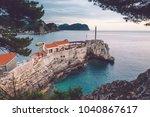 coast venetian fortress...   Shutterstock . vector #1040867617
