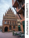 Stock photo old town hall in hannover germany ancient gothic building 1040869771