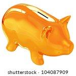 piggy bank | Shutterstock . vector #104087909