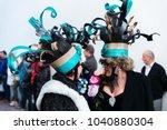 nerja  spain   february 11 ...   Shutterstock . vector #1040880304