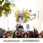 nerja  spain   february 11 ...   Shutterstock . vector #1040880451