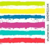 paint lines seamless pattern.... | Shutterstock .eps vector #1040902144
