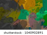 oil painting on canvas handmade.... | Shutterstock . vector #1040902891