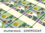 mauritanian ouguiya bills... | Shutterstock . vector #1040903269