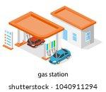 isometric 3d vector...   Shutterstock .eps vector #1040911294