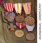 war decorations world war i   Shutterstock . vector #1040911747