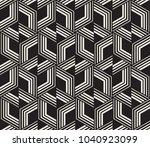 vector seamless pattern. modern ... | Shutterstock .eps vector #1040923099