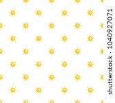 sun pattern seamless in flat...