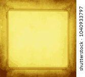 old vintage frame  vector design   Shutterstock .eps vector #1040933797