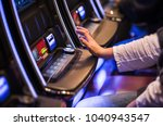 casino video slots game playing.... | Shutterstock . vector #1040943547