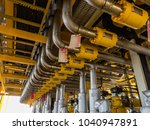 offshore oil and gas central... | Shutterstock . vector #1040947891
