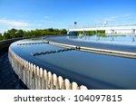 modern urban wastewater... | Shutterstock . vector #104097815