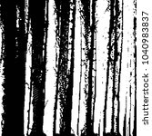 black and white grunge stripe... | Shutterstock . vector #1040983837