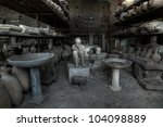 Some details of the excavations of Pompeii in HDR - stock photo