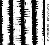 black and white grunge stripe... | Shutterstock .eps vector #1040991901